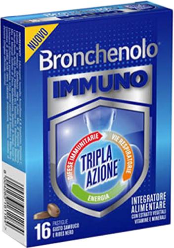 BRONCHENOLO IMMUNO PASTIGLIE - Farmacia Centrale Dr. Monteleone Adriano