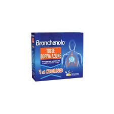 BRONCHENOLO TOSSE DOPPIA AZIONE 10 BUSTINE - farmaciafalquigolfoparadiso.it