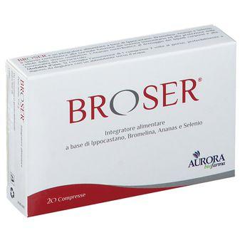 BROSER 20 COMPRESSE - Farmafamily.it