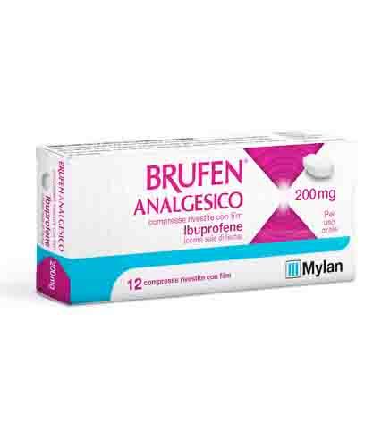 Brufen Analgesico 200mg - Farmacento