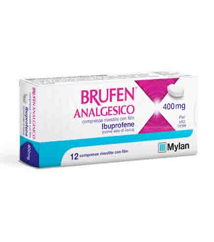 Brufen Analgesico 400mg - Farmacento
