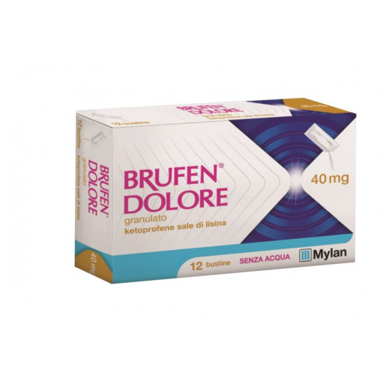 BRUFEN DOLORE*OS 12BUST 40MG - FARMAPRIME