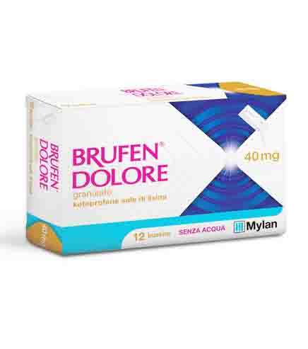 BRUFEN DOLORE*OS 12BUST 40MG - Farmacento