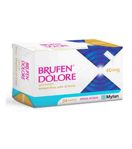 BRUFEN DOLORE*OS 24BUST 40MG - Farmacento
