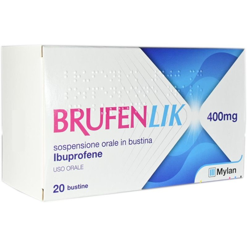 BRUFENLIK*20BUST 400MG 10ML - FARMAPRIME