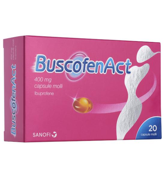 BUSCOFENACT*20CPS 400MG - sapofarma.it
