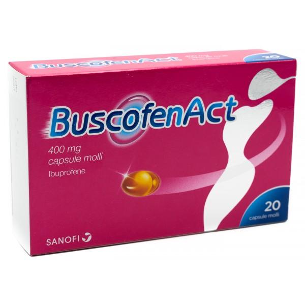 BUSCOFENACT*20CPS 400MG - FARMAPRIME