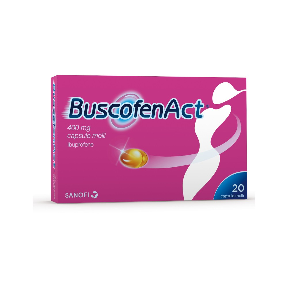 BUSCOFENACT*20CPS 400MG - DrStebe