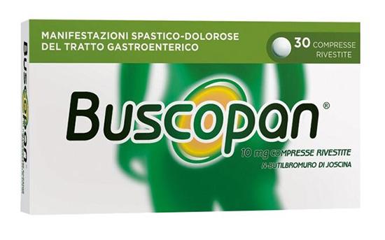 BUSCOPAN 30CPR RIVESTITE 10MG GMM - FARMAEMPORIO