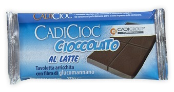 CadiCioc Snack Cioccolato Al Latte 20g - Farmafamily.it