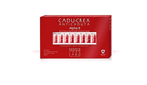 Cadu-Crex Alpha-8 Caduta Grave Uomo 20 Fiale - Sempredisponibile.it