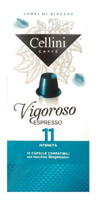 CAFFE' 10 CAPSULE CELLINI VIGOROSO - Farmacia 33
