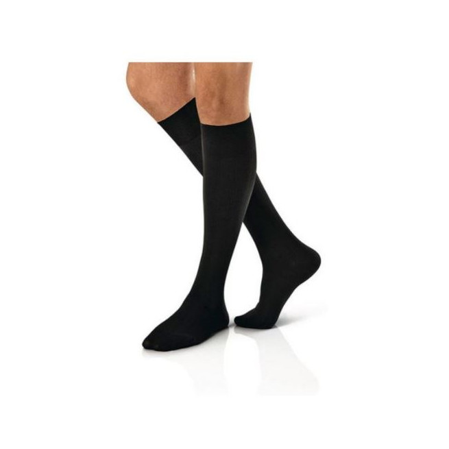 CALZA COMPRESSIVA JOBST FOR MEN 15-20MMHG GAMBALETTO NERO 4 - Parafarmacia Tranchina