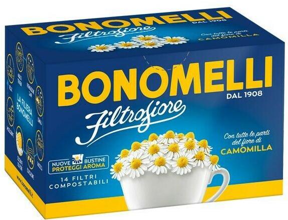 CAMOMILLA FILTRO FIORE 14 FILTRI - Farmacia Centrale Dr. Monteleone Adriano