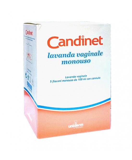 Candinet Lavanda Vaginale Monouso Lavanda Vaginale 5x100ml - Iltuobenessereonline.it