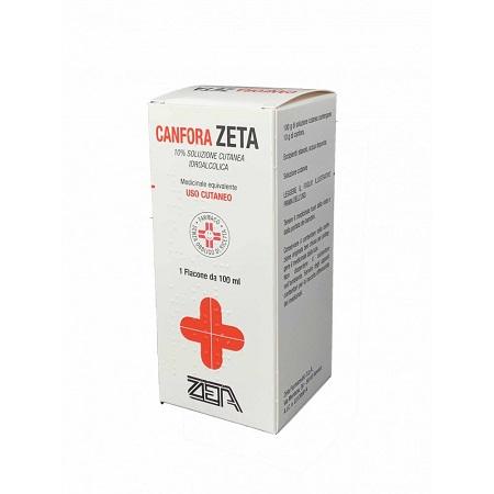 Canfora  ZETA 10% Soluzione 100ml - Farmafamily.it