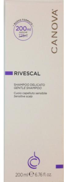 CANOVA RIVESCAL SHAMPOO DELICATO 200 ML - Farmacia Centrale Dr. Monteleone Adriano