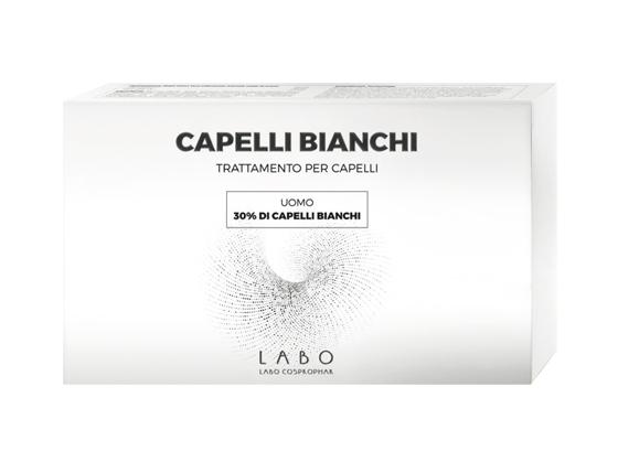 CAPELLI BIANCHI TRATTAMENTO PER CAPELLI CAPELLI BIANCHI 60% DONNA 20 FIALE DA 3,5 ML - Farmabros.it
