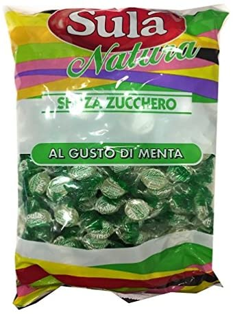 Caramelle Menta senza Zucchero 1kg - Sempredisponibile.it