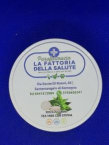 CARAMELLE TEA TREE SCATOLA LATTA 50 G - Parafarmacia la Fattoria della Salute S.n.c. di Delfini Dott.ssa Giulia e Marra Dott.ssa Michela