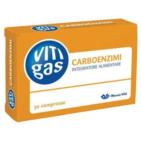 VITIGAS CARBOENZIMI 30 COMPRESSE - Turbofarma.it