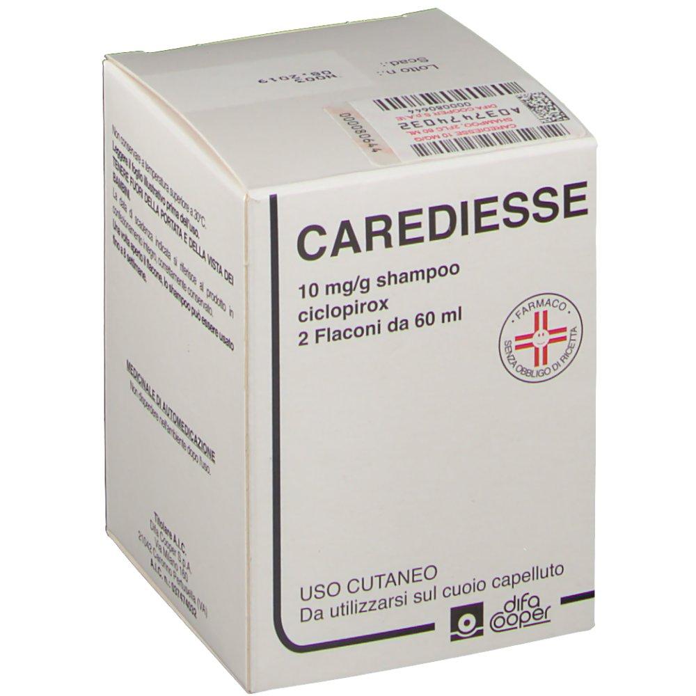 Carediesse 10mg/g Shampoo 2 Flaconi 60ml - Arcafarma.it