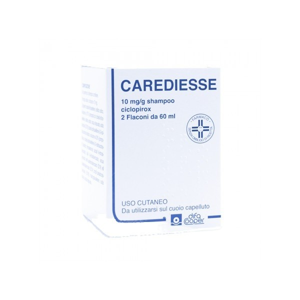 CAREDIESSE*SHAMP2FL 60ML10MG/G - Zfarmacia