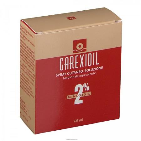 CAREXIDIL*3FL SOLUZ CUT 60ML2% - Farmafamily.it