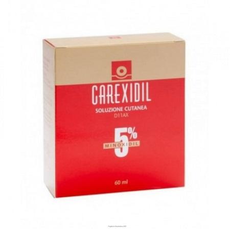 CAREXIDIL*3FL SOLUZ CUT 60ML5% - Farmafamily.it