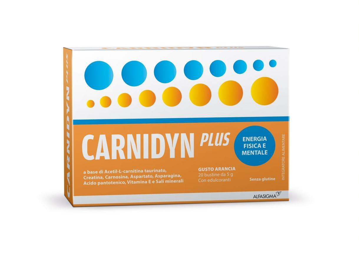 CARNIDYN PLUS 20 BUSTINE DA 5 G GUSTO ARANCIA - Turbofarma.it