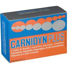 CARNIDYN PLUS 20 BUSTINE DA 5 G GUSTO ARANCIA - Farmaciasconti.it