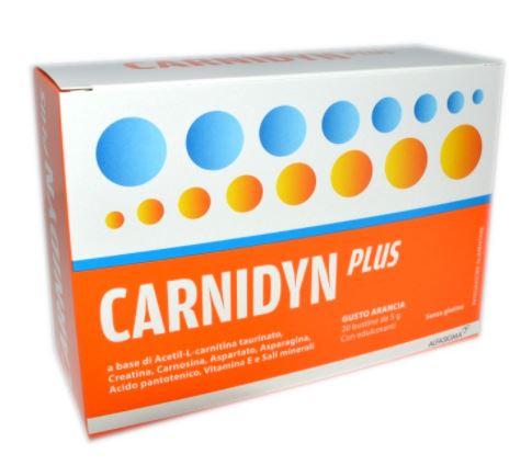 CARNIDYN PLUS 20 BUSTINE DA 5 G GUSTO ARANCIA - Farmafirst.it