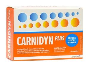 CARNIDYN PLUS 20 BUSTINE DA 5 G GUSTO ARANCIA - Zfarmacia