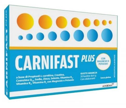 CARNIDYN FAST MAGNESIO/POTASSIO 20 BUSTINE - Farmacia 33