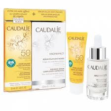 CAUDALIE COFANETTO SIERO VINOPERFECT 30 ML + SOLARE SPF50 25 ML - Farmawing