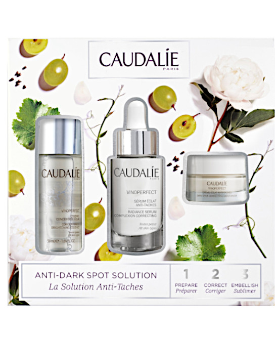 CAUDALIE COFANETTO VINOPERFECT 1/2/3 ESSENZA 50 ML + SIERO 30 ML + CREMA 15 ML - Farmaci.me