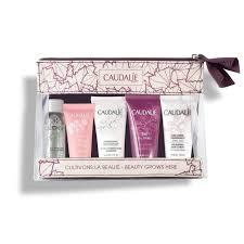 Caudalie Trousse  Bellezza : Crema Viso+Crema Corpo+Shampoo+Acqua Micellare+Gel Doccia - Farmastar.it