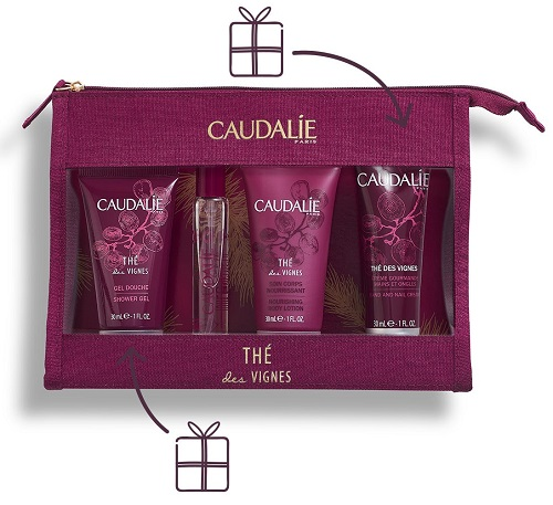 "Caudalie Trousse Regalo""Trousse Profumata Thé des Vignes"" Idea Regalo - Farmastar.it"