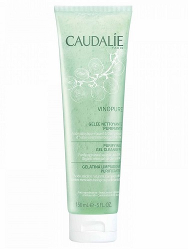 CAUDALIE VINOPURE GEL DETERGENTE VISO PELLE IMPURA 150 ML - Farmastar.it