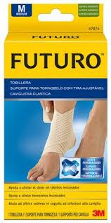 CAVIGLIERA ELASTICA FUTURO SMALL DIMENSIONE 18/20,5CM - Farmawing