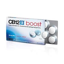 CB12 Boost Menta Forte Senza Zucchero 10 Chewing-Gum - Farmaciasconti.it
