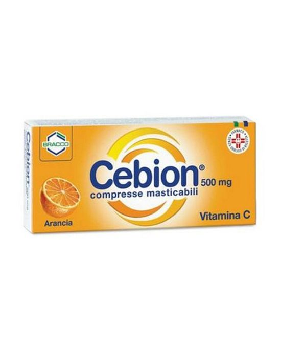 CEBION MASTICABILE ARANCIA VITAMINA C 20 COMPRESSE - Farmapage.it