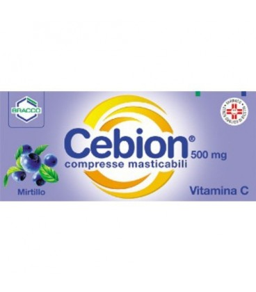 CEBION MASTICABILE MIRTILLO VITAMINA C 20 COMPRESSE - Farmalandia