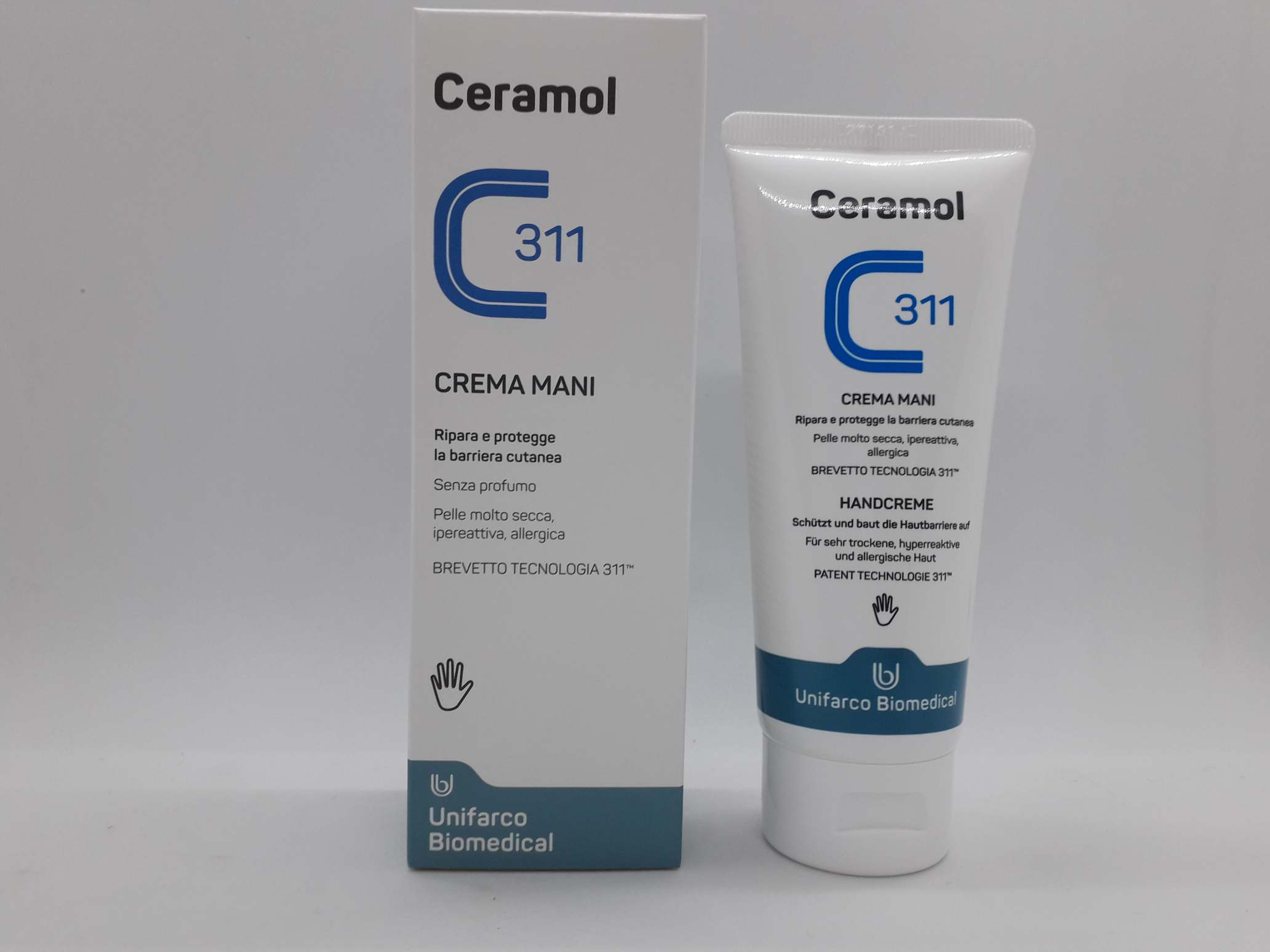 CERAMOL 311 CREMA MANI 100ML - Farmaciaempatica.it