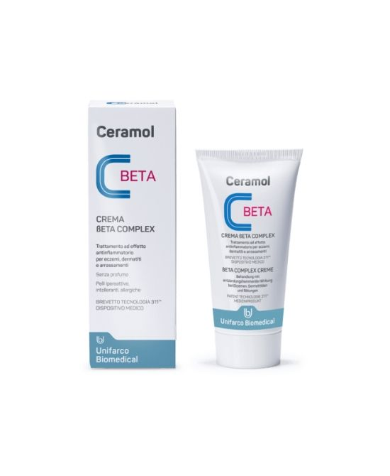 CERAMOL BETA COMPLEX Crema 50ml - Farmapage.it