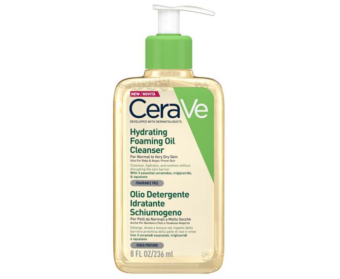 CeraVe Olio Detergente Idratante Schiumogeno 236 ml - Farmacielo