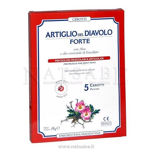 ARTIGLIO DEL DIAVOLO FORTE CEROTTO 5 PEZZI - Parafarmaciaigiardini.it