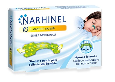 CEROTTINI NASALI BAMBINI NARHINEL - Farmacia33