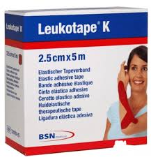 LEUKOTAPE K IN ROCCHETTO  ROSSO 2,5CMX 5M - Iltuobenessereonline.it