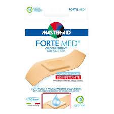 CEROTTO MASTER-AID FORTE MED GRANDE 10 PEZZI - farmaciafalquigolfoparadiso.it
